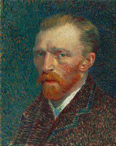 Van Gogh, Self=Portrait, 1887