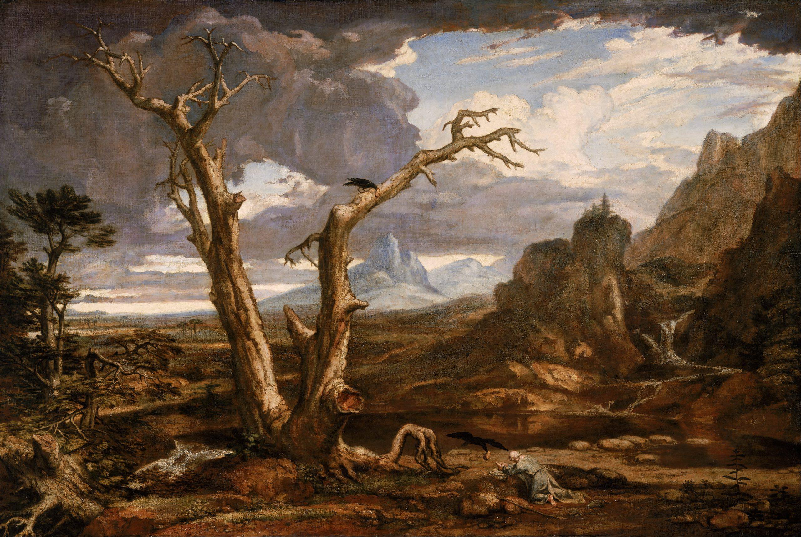 Elijah in despair